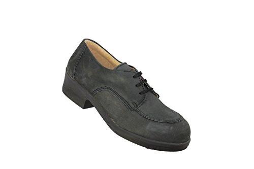 Jallatte Amanda Biotane P1 Sapatos De Negócios Sapatos Profissional Preto Liso