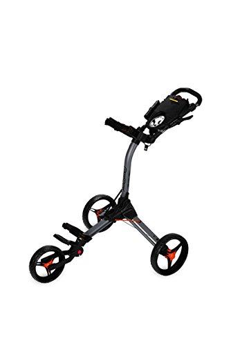 Bag Boy BB71830EU Chariot de Golf Mixte Adulte, Gris/Orange