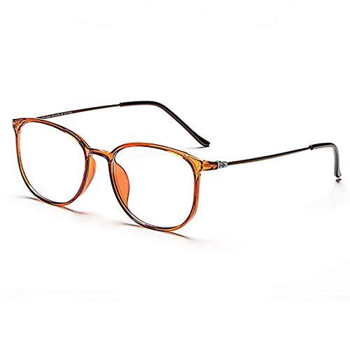 Glücklich zusammen Geben Sie Anti-Blau-Licht-Brille Schutzbrille für Computer/Telefon Besser schlafen [Anti-Augen-Ermüdung] (Color : C)