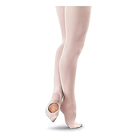 Mytoptrendz® Large Pink Convertible Transition Ballet Tights (Pink Large - Hips 42