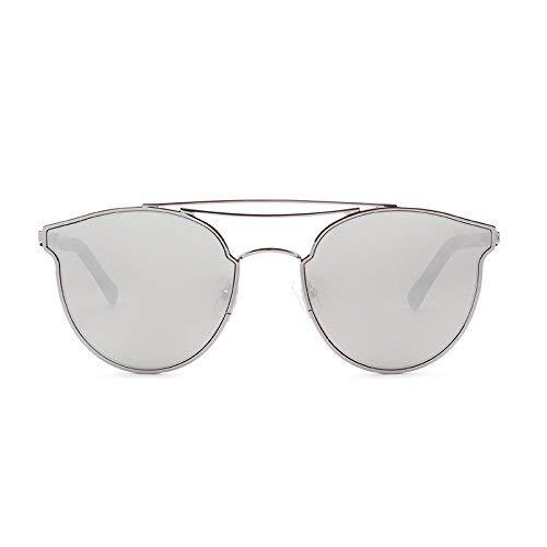 Sonnenbrille Frauen 's Stil der Straßen klatschen eine Persönlichkeit, um die UV-Sonnenschutzbrille Cat Eye zu verteidigen, um alte Bräuche der Sonnenspiegel rundes Gesicht wiederzubeleben