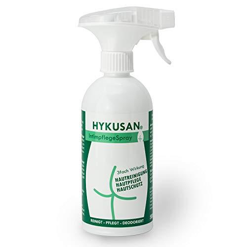 HYKUSAN® professionelle Intimpflege | Intim Waschgel mit 3-fach Wirkung | Intim Schaum Hautschutz gegen Juckreiz | Pflegeschaum Inkontinenz 500ml