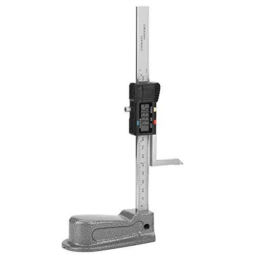 Zunate Calibro Digitale Altezza, Calibro Digitale di Altezza Truschino 0-150mm Magnetico Calibro elettronico di Altezza con Base in Acciaio Inossidabile