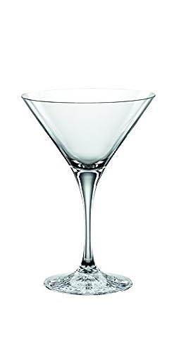 Spiegelau & Nachtmann, 4-teiliges Cocktailgläser-Set, Large Cocktail, Kristallglas, 195 ml, Perfect Serve,