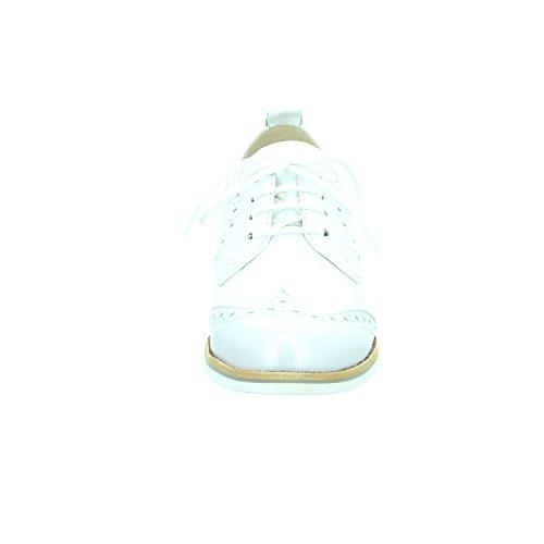 Caprice 2320128942, Scarpe stringate donna Bianco
