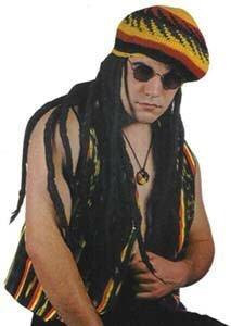 Rasta Imposta 1276 Mehrfarbiges Set mit Sonnenbrille, Rastafari-Weste und Halskette (Einheitsgröße)