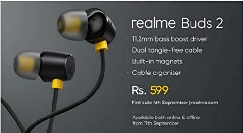 Mr Gaurav Realme in Ear Phone Sound Super (Black) Image 6