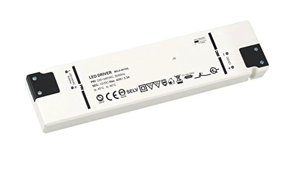 /Charge minimum 1/W max /230/V vers 12/V/ Transformateur Superslim LED 6/W/ /Compatible LED/ 6/W 0,5/A