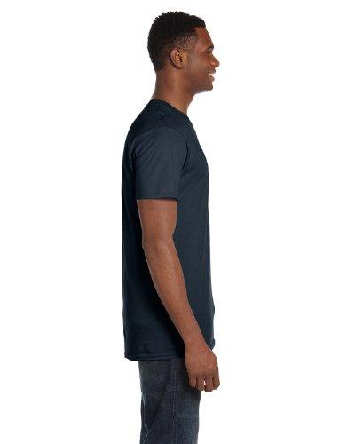 HanesHerren T-Shirt Vintage-Schwarz