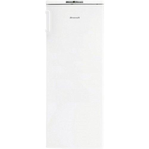 Brandt BFU4425SW Autonome Droit 167L A+ Blanc congélateur - Congélateurs (Droit, 167 L, 8 kg/24h, 43 dB, A+, Blanc)