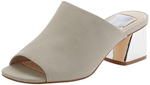 Miss Selfridge Damen Sandal Pantoletten Grau