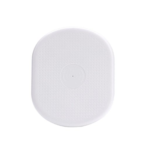 Shage Qi Wireless Power Ladegerät Lade Pad für iPhone 8/8 Plus / X (White) (Samsung Tablet-lade-pad)