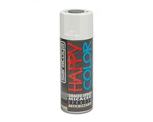 SARATOGA Esmalte Spray Happy Color Antracita micaceo