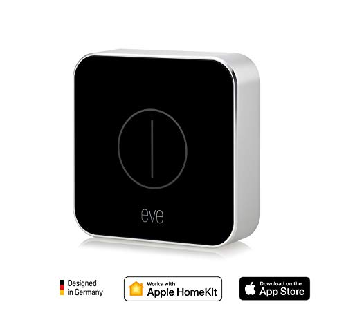 Eve Button - Telecomando per la casa connessa, nero (Apple HomeKit)