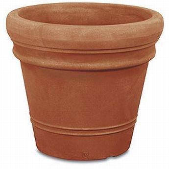 Pot Double Bord Lisse 50 Pot Plastique