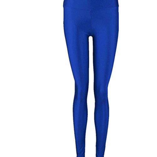 koly-donne-lucido-vita-alta-elastico-colori-della-caramella-di-danza-leggings-pants-s-blu