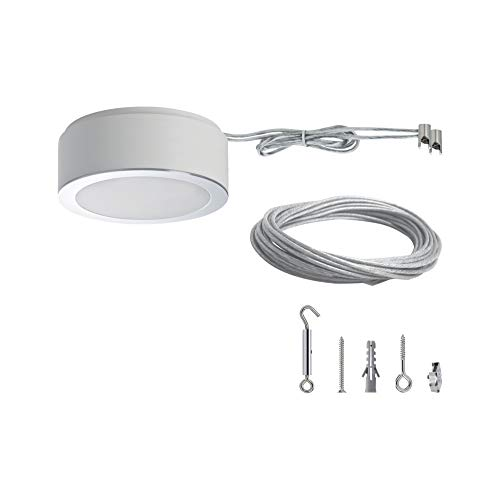 Paulmann 501.15 Seilsystem mit Trafo Set Basic Dimmbar LED 50115 Seilleuchte Hängeleuchte