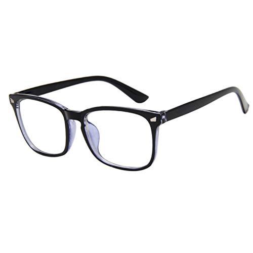 Wenkang Mode Kunststoffrahmen Vintage Sonnenbrille Frauen Platz Designer Sonnenbrille Für Männer Frauen Brillen Retro Uv400,D