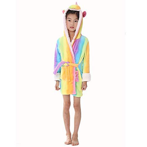 WLJBY Kinder Erwachsene Unisex Tier Bademantel, Rainbow Star Horse Tierform Pyjamas, Super Soft Eltern-Kind-Kostüm Kreatives Design Weihnachten - Super Eltern Kostüm