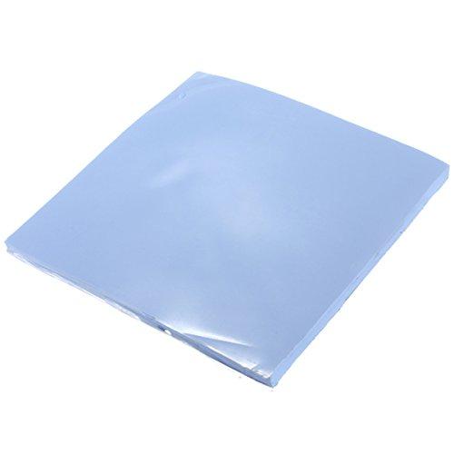 CPU-Kühler, 100 x 100 x 5 mm, thermisch leitfähiges Silikon, Blau -