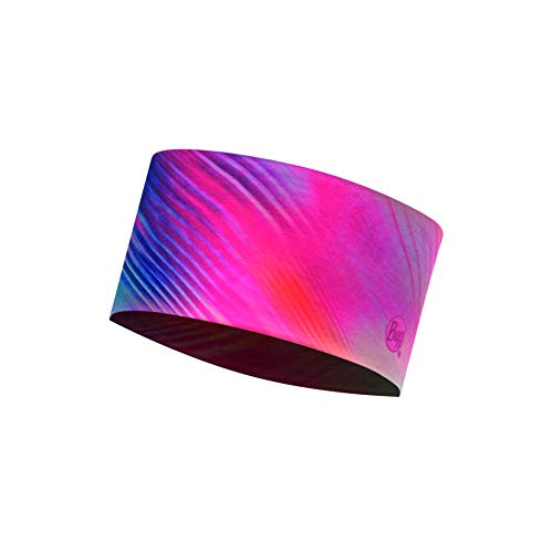 Buff Damen Coolnet Uv+ Headband, Shinning Pink, One Size - Elasthan Stretch-fleece-stirnband