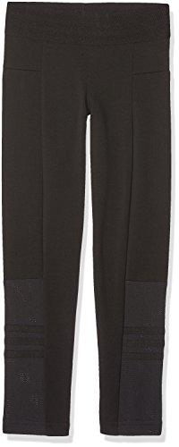 Id 3 (adidas Mädchen Id 3 Stripes Tights, Black/White, 164)
