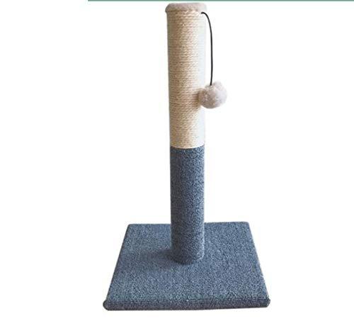 BLHZPD Tiragraffi for Gatti Alti, Corda in sisal con grattugie ricoperta in Morbida Peluche Liscia, graffio Verticale, Design Moderno Altezza 52 cm