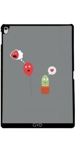 tArtists Hülle für Apple Ipad Pro (9.7 Zoll) - Kaktus In Der Liebe Mit Ballon by Ilovecotton ()