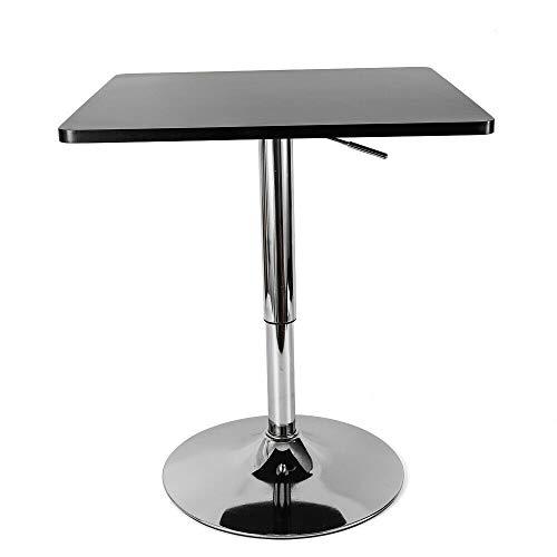 SHIOUCY Bar Table Tisch Worktop Desk Tabellen Schwenkbar Frühstück 27,6-35,4