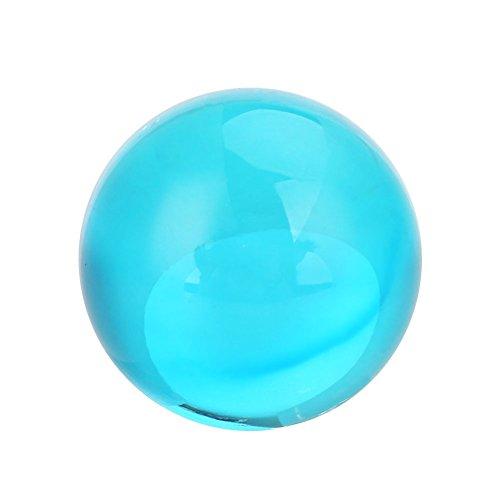 Kicode Mode-Fotografie-Requisiten Feng Shui Glaskugel Globus - Quarz-kristall-globus