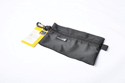 AceCamp 4851 Organizer Bag, Black, Small/4.5 x 8\