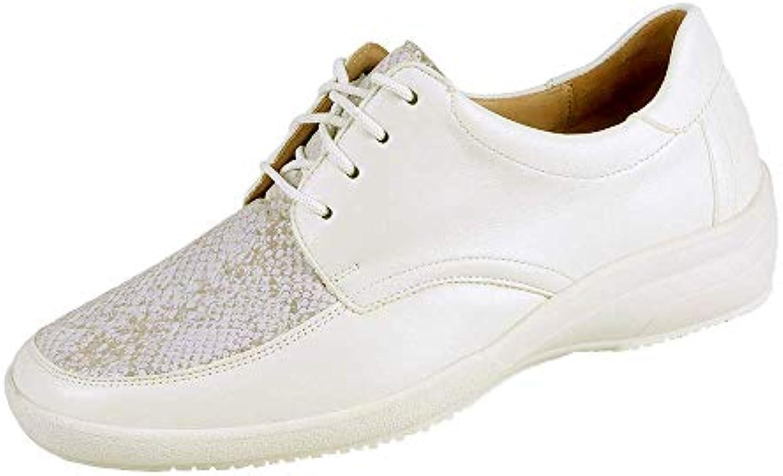 Donna   Uomo Ganter, Scarpe Stringate Donna Bianco Bianco Servizio durevole vendita all'asta Buona qualità | eccellente  | Uomini/Donna Scarpa