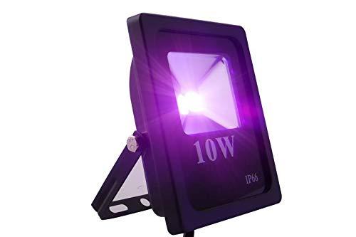 lutlicht Im Freien wasserdichte Gartenbeleuchtung Lampe Lila Licht 10W ()