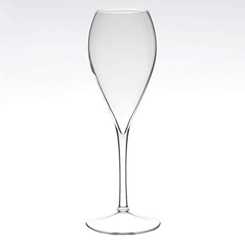 Visiodirect Lot DE 12 Flûtes à Champagne Swim en tritan - 18 cl