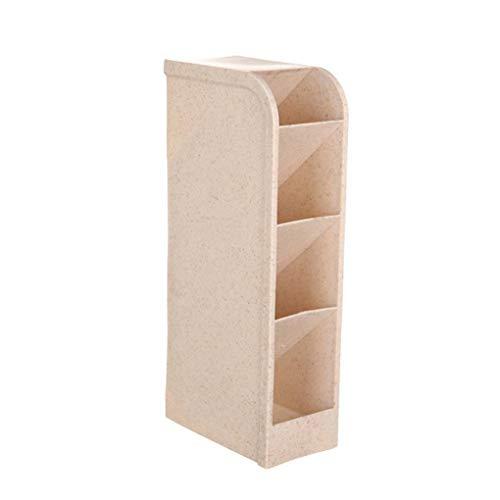 Meisijia 4 Grids Desktop-Schmuck Storage Box Container Makeup Organizer Home Office Kosmetik Pen Lagerplätze (Veranstalter Lagerplätze Spielzeug)