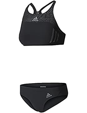 adidas Inf Sl 2Pc Bikini für Damen, Schwarz (Schwarz / Schwarz)