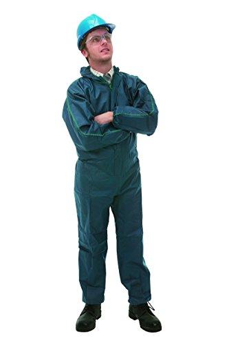 KleenGuard 95670 A10 Leichter Overall mit Kapuze, XXL, 50er Pack (Leichte Uniform)