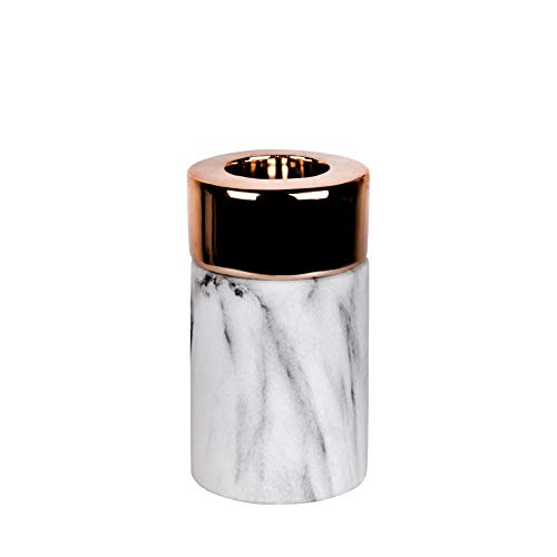 Kerzenhalter und Vase Juna in Kupfer & Gold (Kerzenhalter M (Kupfer))