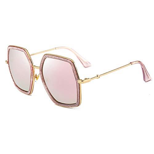 sijiaqi Unisex SonnenbrilleFrauen-grüne neueste Sonnenbrille strahlt quadratische Farbton-Sonnenbrillen aus,Style 3