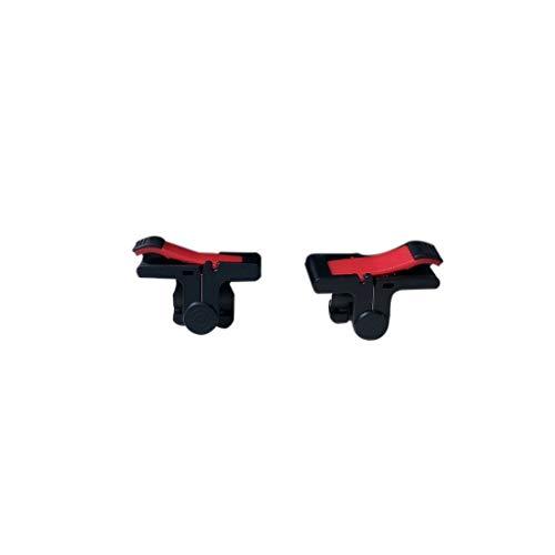Fornateu D9 ABS PC Schwarz Mobile Gaming Trigger-Feuer-Knopf-Handgriff Doppel Telefon Gamepad-Controller Doppel-mobile