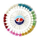 AKORD Heart-Shaped Craft Pins Wheel, Metal Multi-Colour
