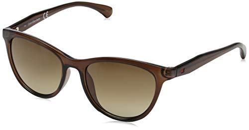 Calvin Klein Damen CKJ811S 203 52 Sonnenbrille, Crystal Brown,