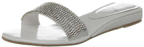 Unze Evening Sandals, Damen Sandalen Weiß (L18401W)
