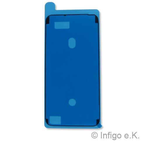 Infigo Klebepad schwarz passend für Apple iPhone 6S Plus Kleber Adhesive Dichtung für Bildschirm Display und Rahmen Gehäuse (iPhone 6s Plus, schwarz) - Rahmen Plus Zubehör