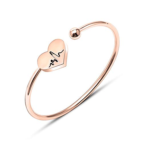 Le bracelet infirmière en forme de coeur