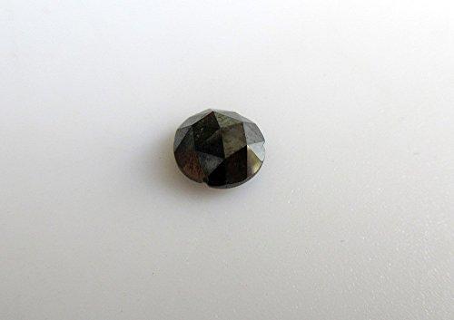 Diamanti taglio Loose 1pz nero/rosa/raw Rough Diamond rose taglio sfaccettato cabochon/6mm-D90