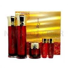 Korean Cosmetics _ Cellio Han Rouge ginseng Skin Care 3PC Set