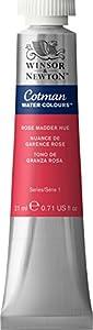 Winsor & Newton Tubos De Pintura Cotman Agua Color Rose Madder hue 21ml