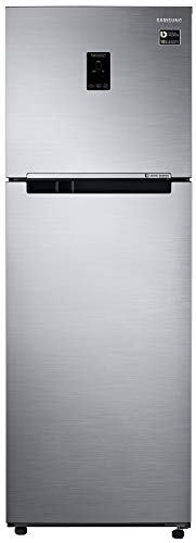Samsung 345 L 3 Star Frost-Free Double-Door Refrigerator (RT37M5538SL/EZ, CLEAN Stainless, Inverter...