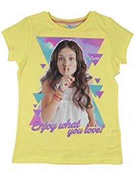 Soy luna T-Shirt gelb
